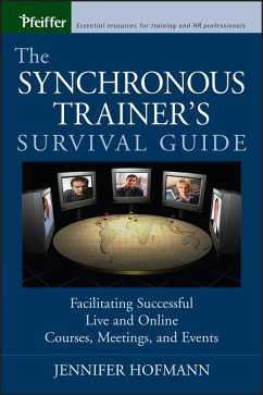 The Synchronous Trainer's Survival Guide (eBook, PDF) - Hofmann, Jennifer