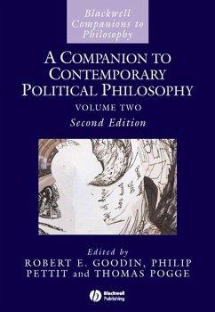 A Companion to Contemporary Political Philosophy (eBook, PDF)