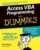 Access VBA Programming For Dummies (eBook, PDF)
