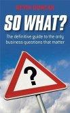 So What? (eBook, PDF)
