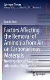 Factors Affecting the Removal of Ammonia from Air on Carbonaceous Materials (eBook, PDF)