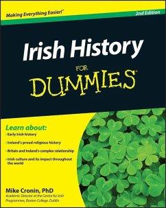 Irish History For Dummies (eBook, ePUB) - Cronin, Mike
