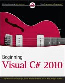 Beginning Visual C# 2010 (eBook, ePUB)