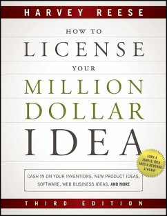 How to License Your Million Dollar Idea (eBook, ePUB) - Reese, Harvey