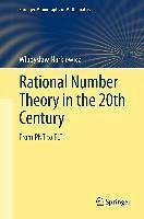 Rational Number Theory in the 20th Century (eBook, PDF) - Narkiewicz, Wladyslaw
