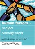 Human Factors in Project Management (eBook, ePUB)