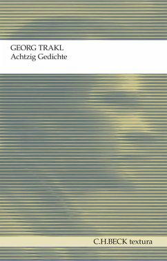 Achtzig Gedichte (eBook, ePUB) - Trakl, Georg
