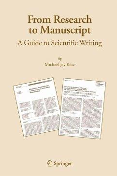 From Research to Manuscript (eBook, PDF) - Katz, Michael Jay