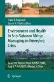 Environment and Health in Sub-Saharan Africa: Managing an Emerging Crisis (eBook, PDF)