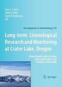 Long-term Limnological Research and Monitoring at Crater Lake, Oregon (eBook, PDF)