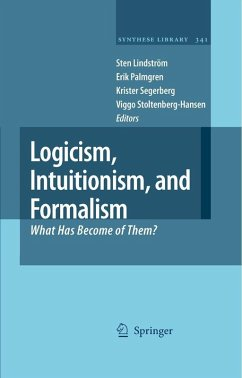 Logicism, Intuitionism, and Formalism (eBook, PDF)