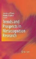 Trends and Prospects in Metacognition Research (eBook, PDF)