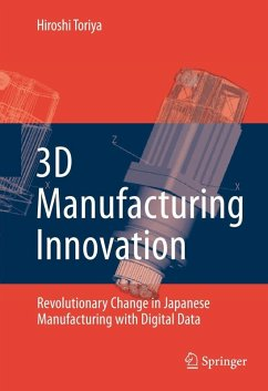 3D Manufacturing Innovation (eBook, PDF) - Toriya, Hiroshi