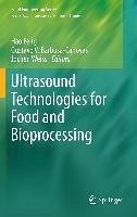Ultrasound Technologies for Food and Bioprocessing (eBook, PDF)