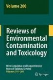 Reviews of Environmental Contamination and Toxicology 200 (eBook, PDF)