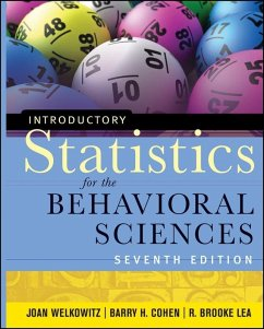 Introductory Statistics for the Behavioral Sciences (eBook, ePUB) - Welkowitz, Joan; Cohen, Barry H.; Lea, R. Brooke