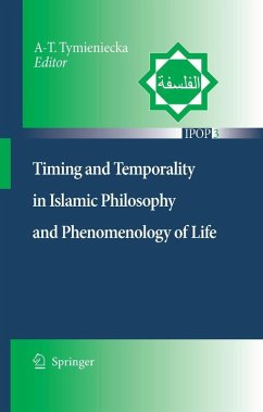Timing and Temporality in Islamic Philosophy and Phenomenology of Life (eBook, PDF)