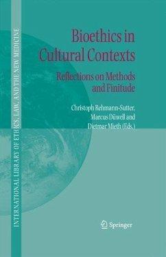 Bioethics in Cultural Contexts (eBook, PDF)