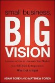 Small Business, Big Vision (eBook, ePUB)