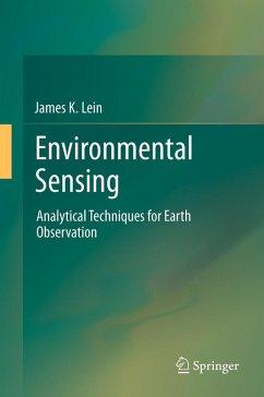 Environmental Sensing (eBook, PDF) - Lein, James K.
