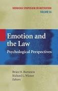 Emotion and the Law (eBook, PDF)
