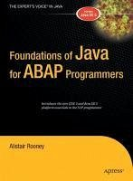 Foundations of Java for ABAP Programmers (eBook, PDF) - Rooney, Alistair