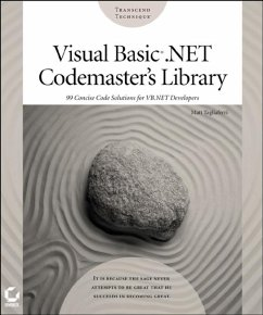 Visual Basic .NET Codemaster's Library (eBook, PDF) - Tagliaferri, Matt