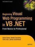 Beginning Visual Web Programming in VB .NET (eBook, PDF)