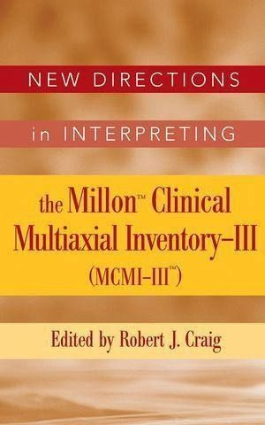 the millon clinical multiaxial inventory iii The millon clinical multiaxial inventory-iii (mcmi-iii) is a 175-item self-report inventory designed to assess personality characteristic and psychopathology it has 4 validity scales, 11 clinical personality pattern scales, and 3 severe clinical syndrome scales.