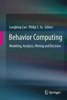 Behavior Computing (eBook, PDF)