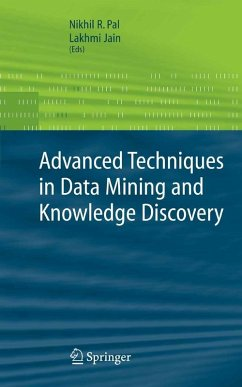 Advanced Techniques in Knowledge Discovery and Data Mining (eBook, PDF)