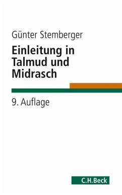 Einleitung in Talmud und Midrasch (eBook, ePUB) - Stemberger, Günter