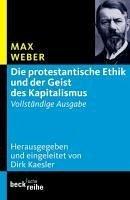 Die protestantische Ethik und der Geist des Kapitalismus (eBook, ePUB) - Weber, Max