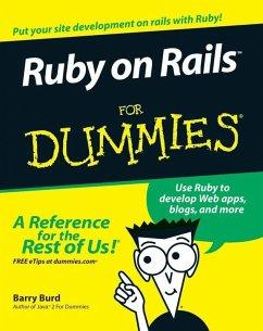 Ruby on Rails For Dummies (eBook, ePUB) - Burd, Barry