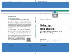 Being Apart from Reasons (eBook, PDF) - MichelonJr., Cláudio