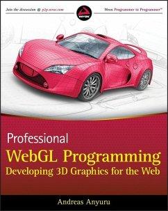 Professional WebGL Programming (eBook, ePUB) - Anyuru, Andreas