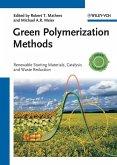Green Polymerization Methods (eBook, ePUB)