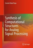 Synthesis of Computational Structures for Analog Signal Processing (eBook, PDF)