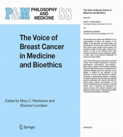 The voice of breast cancer in medicine and bioethics (eBook, PDF)