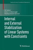 Internal and External Stabilization of Linear Systems with Constraints (eBook, PDF)