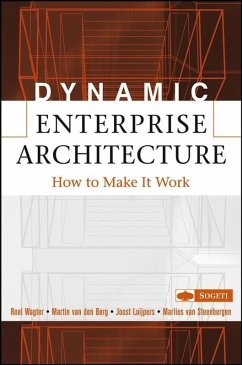 Dynamic Enterprise Architecture (eBook, PDF) - Wagter, Roel; Berg, Martin Van Den; Luijpers, Joost; Steenbergen, Marlies Van