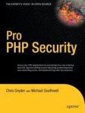 Pro PHP Security (eBook, PDF)