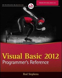 Visual Basic 2012 Programmer's Reference (eBook, ePUB) - Stephens, Rod