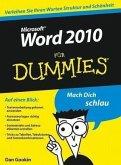 Word 2010 für Dummies (eBook, ePUB)