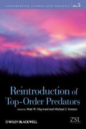Reintroduction of Top-Order Predators (eBook, PDF)