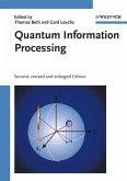 Quantum Information Processing (eBook, PDF)