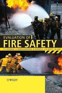Evaluation of Fire Safety (eBook, PDF) - Rasbash, D.; Kandola, B.; Watts, J.; Law, M.; Ramachandran, G.