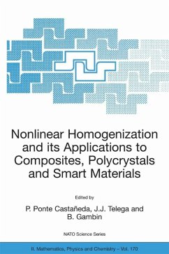 Nonlinear Homogenization and its Applications to Composites, Polycrystals and Smart Materials (eBook, PDF)