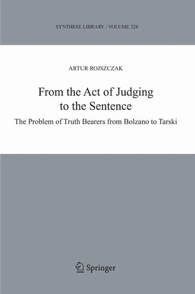 From the Act of Judging to the Sentence (eBook, PDF) - Rojszczak, Artur