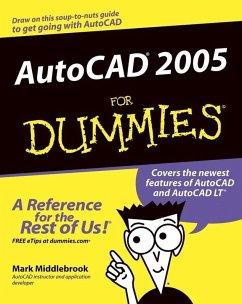 AutoCAD 2005 For Dummies (eBook, PDF) - Middlebrook, Mark